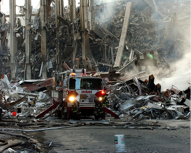 Ground Zero, New York City, N.Y. (Sept. 16, 2001)